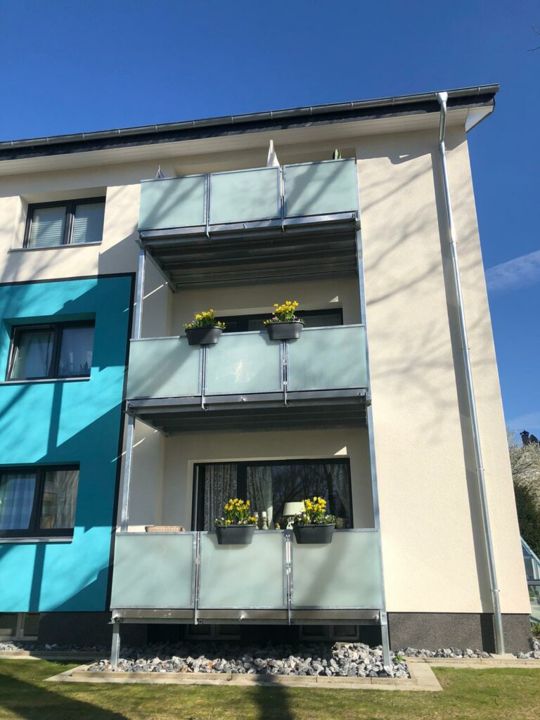 Balkonkästen Auf der Hucht